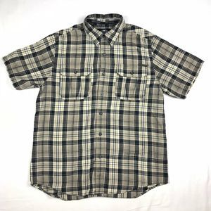 Harley Davidson Button Down Shirt Plaid